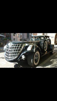 Black Spider Car.
