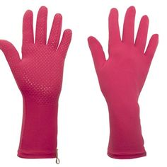 Foxgloves Grip Gardening Gloves in Fuchsia Pink are stunning gloves for women gardeners and very popular too. Silicone dots on the palms aid grip. Hand Gloves, Mitten Gloves, Mittens, Gardening Magazines, Pink Garden, Periwinkle Blue, Purple, Gardening Gloves, Garden Gifts