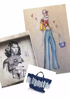 Design #16 of my 30 Days of November Designing with Meli Melo bags as a base of inspiration