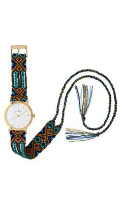 friendship bracelet / watch