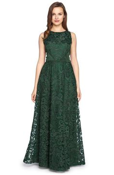 Tahari Tahari Corded Lace Fit & Flare Gown available at #Nordstrom