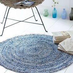 tapis en jean
