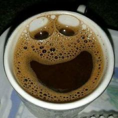 My happy coffee Happy Coffee, Good Morning Coffee, Coffee Talk, Coffee Is Life, I Love Coffee, Coffee Break, My Coffee, Coffee Cups, Happy Cup