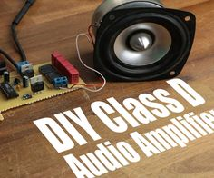 In this project I will show you why a class AB amplifier is pretty inefficient and how a class D amplifier on the other hand improves this efficiency. At the end I will show you how we can apply the theory of operation of a class D amp to a couple of common components in order to create our own DIY class D audio amp. Let's get started!