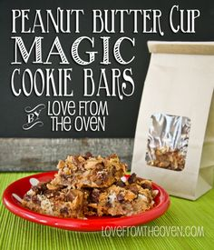 Peanut Butter Cup Magic Cookie Bar