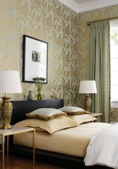 Engaging Living Room with Wallpaper Designs Amusing Interior
