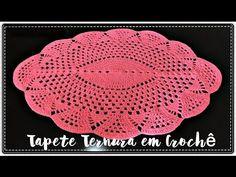 Olá meninas!Hoje venho trazer o passo a passo desse lindo tapete oval em crochê,que é super fácil e rápido para fazer! Inscreva-se no Canal:https://www.youtu...