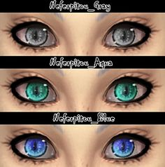 Neferpitou eyes at DecayClown's Sims • Sims 4 Updates