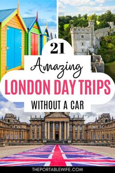 This London travel guide covers all the best London day trips by train. These beautiful places near London are full of UK staycation ideas. Take an easy London day trip to Oxford Harry Potter filming locations, explore castles near London, or visit the famous white cliffs with this UK travel guide. You can travel England without a car, and even leave the country for a Paris or Brussels day trip from London.   Planning a trip to London   England travel destinations   UK itinerary train   #london London England Travel, London Travel, Travel Europe, Travel Destinations, European Travel, Day Trips From London, Things To Do In London, Visit Uk, Travel Guide