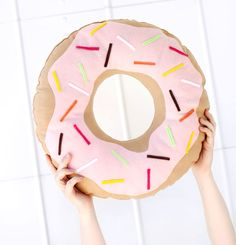 DIY : coussin donut