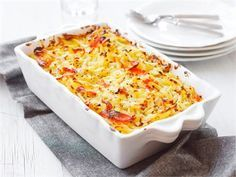 Lohilaatikko Seafood Dishes, Fish And Seafood, Salmon Casserole, 20 Min, Quick Meals, Macaroni And Cheese, Side Dishes, Good Food, Food And Drink