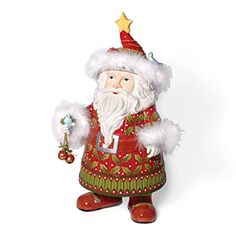Department 56 Krinkles Santa Cookie Jar Review