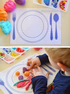Sempre criança:  http://picklebums.com/2014/07/22/fun-food-play-d...