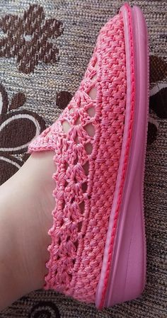 Discover thousands of images about - Entrada - Vivo Internet Discada Webmail - vicmarcia Crochet Sandals, Crochet Boots, Crochet Slippers, Love Crochet, Crochet Clothes, Crochet Shoes Pattern, Shoe Pattern, Crochet Patterns, Knitting Patterns