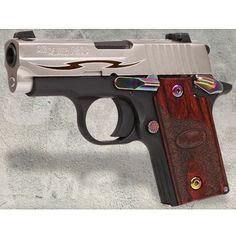 Sig Sauer P238 Rosewood Tribal  - $670