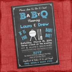 17 Best Baby Q Invitations Images Boy Shower Baby Q Invitations