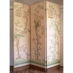 Home Decor Screens Chinoiserie Style Folding Screen
