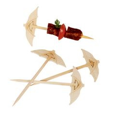 The Umbrella Skewer makes drinks exotic and festive. Perfect for nautical, beach or Hawaii themed events, summer cocktails and bachelor/bachelorette parties.