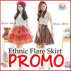 High Quality Ethnic Flare Skirt Batik (RK123 / RK127) - http://www.afwindo.com/shoplocal-brand/high-quality-ethnic-flare-skirt-batik-rk123-rk127/