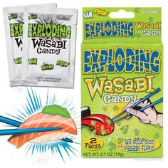 a4313f8613 Exploding Wasabi Candy and more Unique Gift Ideas at Perpetual Kid. Not to  be confused with guacamole