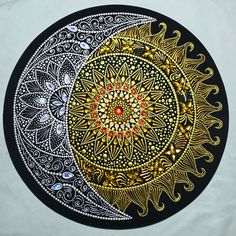 Pin by Sharon Pontier on Art Mandala Art, Mandala Rocks, Mandala Drawing, Mandala Painting, Dot Art Painting, Pottery Painting, Stone Painting, Cd Art, Record Art