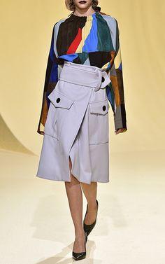 Patch Pocket Skirt by MARNI for Preorder on Moda Operandi