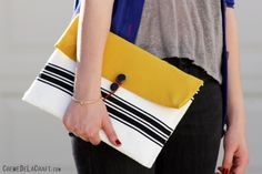 A Chic iPad Case Made From A Bubble Envelope