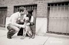 include your dog at your engagement session! // © gntphoto.com