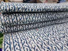 Indian Cotton Kantha Bed Cover Print Bedspread Hand Block Print Blanket #Handmade #ArtsCraftsMissionStyle