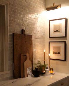 Kitchen Interior, Interior And Exterior, Küchen Design, House Design, Home And Deco, Cozy House, Home Decor Inspiration, Decor Ideas, Home Kitchens