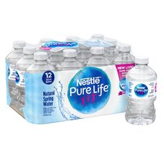 Nestle Pure Life, Natural Spring Water, Sleeve Surgery, Online Shopping Canada, Spring Nature, Water Bottle, Bottled Water, How To Know, The 100
