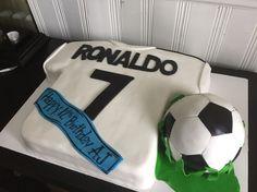 Soccer jersey cake Ronaldo cake | My Cakes!!! | Pinterest | Soccer ...