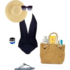 I usually dont like navy or one-piece swimsuits. my-style
