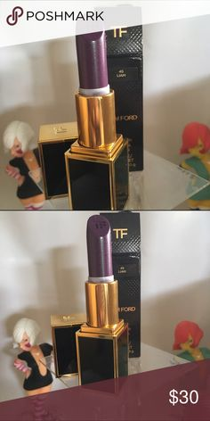 Tom ford lip color The color is Liam. Brand new in box.  From the lips to boys collection. Tom Ford Makeup Lipstick