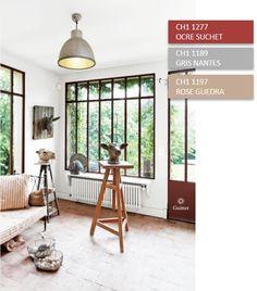 peinture guittet cuisine armoire rouge peinte en horus. Black Bedroom Furniture Sets. Home Design Ideas