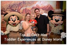 10 Can't Miss Toddler Experiences at Disney World 10 Can't Miss Toddler Experiences at Disney World The post 10 Can't Miss Toddler Experiences at Disney World appeared first on Paris Disneyland Pictures. Disney World Vacation Planning, Disney Planning, Disney Vacations, Disney Trips, Vacation Destinations, Vacation Ideas, Walt Disney, Disney Day, Disney Magic