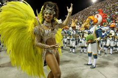 Juliana Alves, a rainha de bateria da Unidos da Tijuca / Bruno Gonzalez - Extra