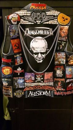Battle Vest with chains.