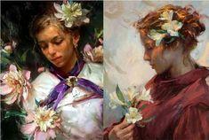 DIVAGAR SOBRE TUDO UM POUCO: A arte do Pintor Daniel Gerhartz