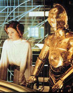 Leia & C3PO