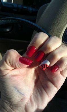 Basketball nail design