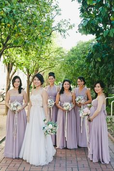 Featured Photographer: Onelove Photography; bridesmaid dress idea