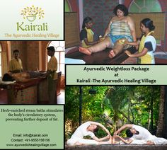 Be slim with Weight Reduction Program at Kairali. Is that sagginess stopping you from enjoying life? Let us help you shed those extra kilos organically with ayurvedic massages (oil and powder), restructured diet (strictly vegetarian) and oral medication under the supervision of ayurvedic doctors. Experience personalized treatments at the Weight Loss Program at The Ayurvedic Healing Village combined with yoga and meditation to learn self-acceptance.