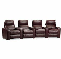 Shop for Lane Home Furnishings End Zone Theater Seating 222 THEATER and other Home Entertainment Sectionals at Union Furniture in UnionMissouri.  sc 1 st  Pinterest & Cindy Crawford Home Brogan 4 Pc Leather Reclining Power Sectional ... islam-shia.org