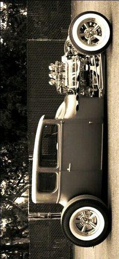 °) Old School Hot Rod, whitewalls and Cragar rims (°!°) Old School Hot Rod, whitewalls and Cragar rims (°!°) Old School Hot Rod, whitewalls and Cragar rims - Rat Rods, Sexy Cars, Hot Cars, Traditional Hot Rod, Truck Art, Ford Classic Cars, Old Trucks, Dodge Trucks, Semi Trucks