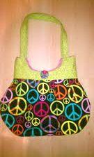 Medium Bag- Peace signs