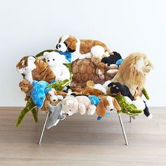 Campana Brothers (Co. Art N Craft, Toy Craft, Glue Gun Crafts, Cozy Chair, Recycled Furniture, Animal Pillows, Furniture Makeover, Chair Design, Cool Things To Make