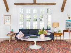 The Home Town hostess and designer with the most-ess shares her go-to hues seen in the incredible transformations she creates with her husband, Ben.