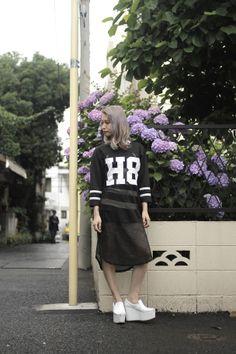 [Street Style] Yui Mamada | grapevine by k3 STAFF | Daikanyama (Tokyo)