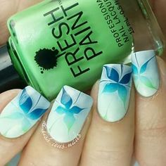 Amazing watermarble nails by using Pure Color 7 watermarble tool off today!) from whatsupnails. Toe Nail Art, Toe Nails, Pastel Nails, Acrylic Nails, Water Marble Nails, Sexy Nails, Nail Envy, Fabulous Nails, Flower Nails